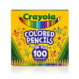 Crayola Colored Pencils (100 Count) 1-Pack of 100 - Chickadee Solutions - 1