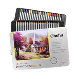Ohuhu [Tin Case] 48-color Colored Pencils/ Drawing Pencils for Sketch/Colorin... - Chickadee Solutions - 1