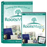 RootsMagic 7 Family Tree Genealogy Software / Book Bundle - Chickadee Solutions