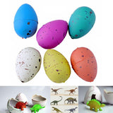 6 Pcs Cute Hatching Magic Growing Easter Pet Dinosaur Kit Excavation Egg Add ... - Chickadee Solutions - 1