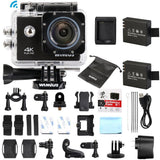 4K Ultra HD Sports Action Camera Wifi 1080P 60fps 16MP 2.0 inch Waterproof Vi... - Chickadee Solutions - 1