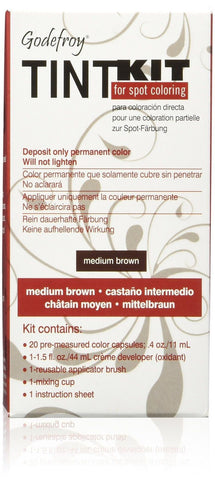 204 Godefroy Color Tint Kit Medium Brown - Chickadee Solutions - 1