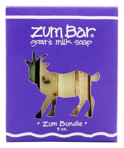 Zum Bar Goat's Milk Soap Zum Bundle -- 9 oz 9 oz. - Chickadee Solutions - 1