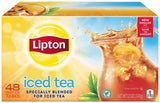 Lipton Black Iced Tea Family Size 48 ct 1 - Chickadee Solutions - 1
