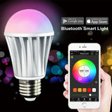 MagicLight Bluetooth Smart LED Light Bulb - Smartphone Controlled Dimmable Mu... - Chickadee Solutions - 1