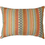 Better Homes and Gardens Woven Stripe Decorative Pillow Orange - Chickadee Solutions
