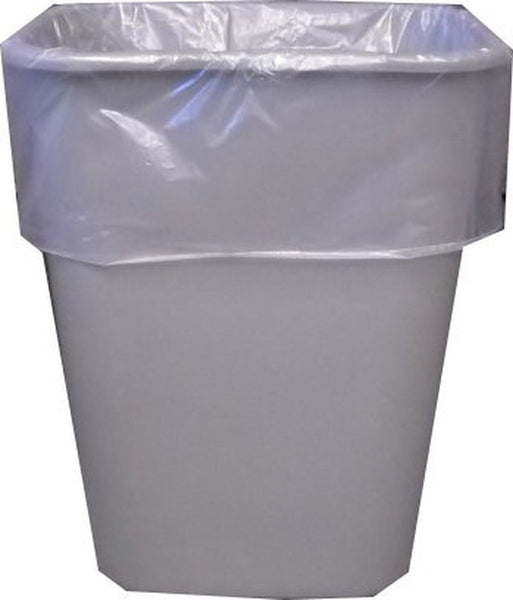 13 Gallon Clear Garbage Bags Tall Kitchen Trash Bags 250 Count Can Liners Com Chickadee