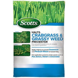 Scotts Halts Crabgrass & Grassy Weed Preventer 5000-sq ft - Chickadee Solutions - 1