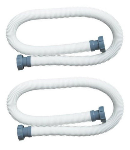 "Intex 1.5"" Diameter Accessory Pool Pump Replacement Hose - 59"" Long - Set of 2 - Chickadee Solutions - 1"