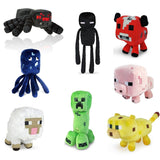 "Super cute 7"" Assorted Plush for Minecraft Lovers(set of 8) - Chickadee Solutions - 1"