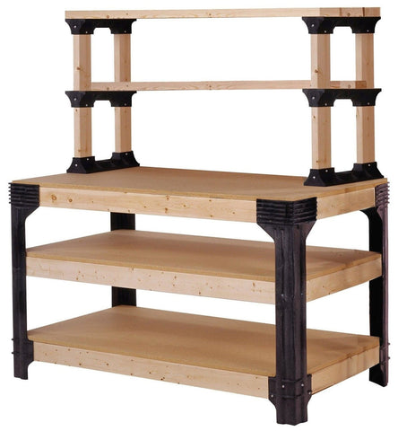 Hopkins 90164 2x4basics Workbench and Shelving Storage System 2x4 Basics - Chickadee Solutions - 1