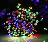 HDS-TEK HDS-LED-MU Decorative Solar Powered Christmas Lights 200 LED String L... - Chickadee Solutions - 1