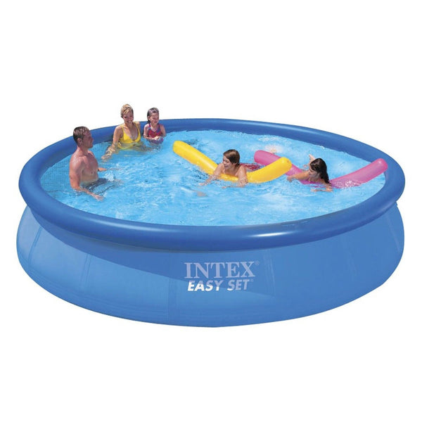 intex 15ft x 36in easy set pool set 15 feet by 36 inch. Black Bedroom Furniture Sets. Home Design Ideas