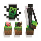 Minecraft Vinyl Wall Graphics Creatures 4-Pack - Chickadee Solutions