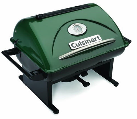 Cuisinart CCG-100 GrateLifter Portable Charcoal Grill - Chickadee Solutions - 1