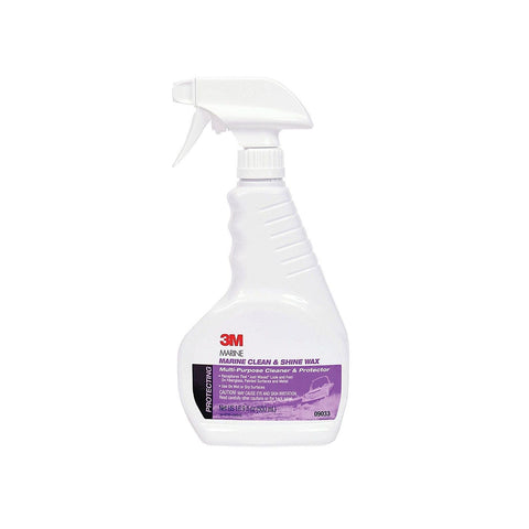 3M 09033 Marine Clean & Shine Wax Spray 16.9 oz. - Chickadee Solutions