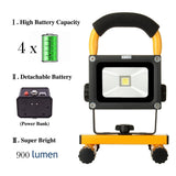 LOFTEK10W Rechargeable LED Portable Work LightWith Detachable High Capacity B... - Chickadee Solutions - 1