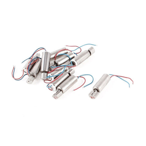 3500RPM 2 Wires Miniature Micro Vibrating Vibration Motor DC3V 10Pcs - Chickadee Solutions - 1