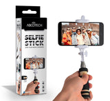 Bluetooth Selfie Stick - Self-portrait Monopod with cell phone clamp - Extend... - Chickadee Solutions - 1