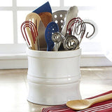 CHEFS Kitchen Tool Crock White - Chickadee Solutions