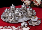 Ottoman Turkish Greek Arabic Coffee Espresso Guest Serving Cup Saucer Set by ... - Chickadee Solutions