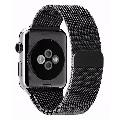 Apple Watch Band Tirnga Milanese Loop Mesh Smooth Stainless Steel Strap Freel... - Chickadee Solutions - 1