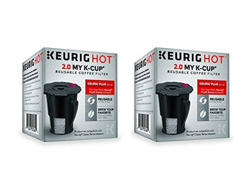 Keurig 119367 2.0 My K-Cup Reusable Coffee Filter (Updated Model) (2 PACK) - Chickadee Solutions