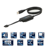 Sabrent USB 2.0 TO SATA/IDE 2.5/3.5/-INCH Hard Drive Converter With Power Sup... - Chickadee Solutions - 1