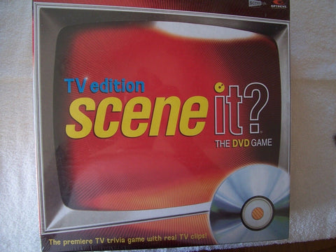 Scene It TV Edition The DVD Game - Chickadee Solutions - 1