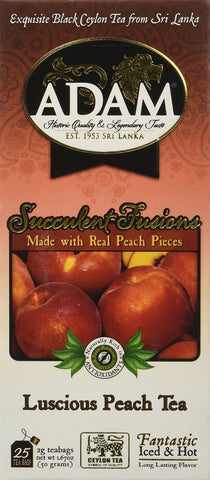 Adam Refreshing Iced Tea Strawberry/Peach 150 Count - Chickadee Solutions - 1