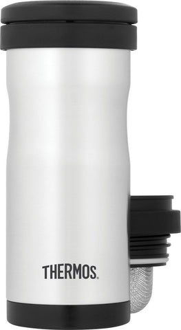Thermos 12 Ounce Vacuum Insulated Stainless Steel Tea Tumbler with Infuser St... - Chickadee Solutions - 1