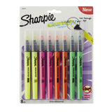 Sharpie Clear View Highlighter Stick Assorted 8 Pack (1966798) 8-Pack - Chickadee Solutions - 1