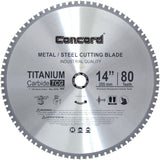 Concord Blades MCB1400T080HP 14-Inch 80 Teeth TCT Ferrous Metal Cutting Blade - Chickadee Solutions - 1