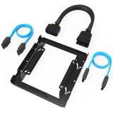 Sabrent 3.5-Inch to x2 SSD / 2.5-Inch Internal Hard Drive Mounting Kit [SATA ... - Chickadee Solutions - 1