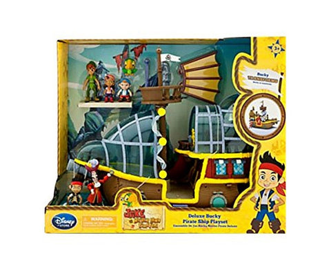 Disney Jake and the Never Land Pirates Playset Deluxe Bucky Pirate Ship [2014] - Chickadee Solutions