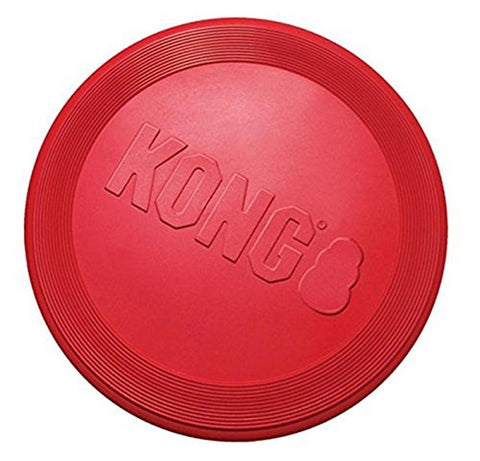 KONG RUBBER FLYER RED Large - Chickadee Solutions - 1