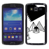 Slim Design Hard PC/Aluminum Shell Case Cover for Samsung Galaxy Grand 2 SM-G... - Chickadee Solutions