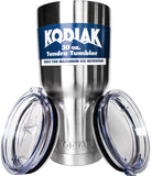 Kodiak Coolers Double Wall Vacuum Insulated Stainless Steel Tumbler Two Lids ... - Chickadee Solutions - 1