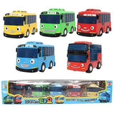 Little Bus TAYO Toy 5 pcs (Tayo + Rogi + Gani + Rani + Citu) - Chickadee Solutions