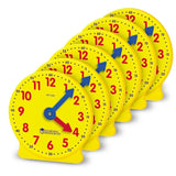 Learning Resources Gear Clock 4 Inch (Set/6) - Chickadee Solutions - 1
