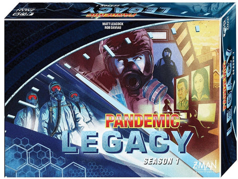 Pandemic Legacy Blue Board Game Standard Packaging - Chickadee Solutions - 1