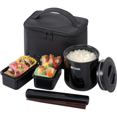 Tiger LWY-E036 Thermal Lunch Box Black - Chickadee Solutions