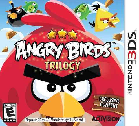 Angry Birds Trilogy - Nintendo 3DS - Chickadee Solutions - 1