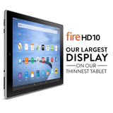 "Fire HD 10 Tablet 10.1"" HD Display Wi-Fi 32 GB - Includes Special Offers Silv... - Chickadee Solutions - 1"