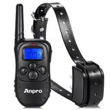 Anpro DC-25 330 yards Rechargeable Remote Dog Training Collar with Beep Vibra... - Chickadee Solutions - 1