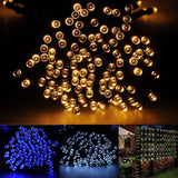 Brightown 72ft/22m 200 LED Solar Fairy String Lights for Outdoor Gardens Pati... - Chickadee Solutions - 1