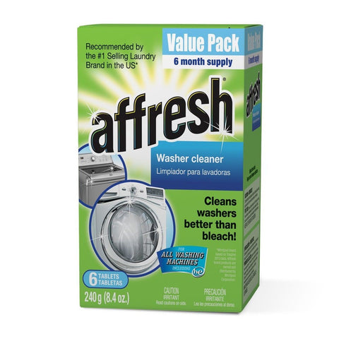 Affresh Washer Machine Cleaner 6-Tablets 8.4 oz Carton 6 Tablets - Chickadee Solutions - 1