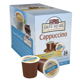 Grove Square Cappuccino French Vanilla 24 Count Single Serve Cups 24-Count - Chickadee Solutions - 1