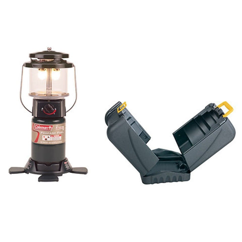 2 - Mantle Propane Lantern withcase Green - Chickadee Solutions