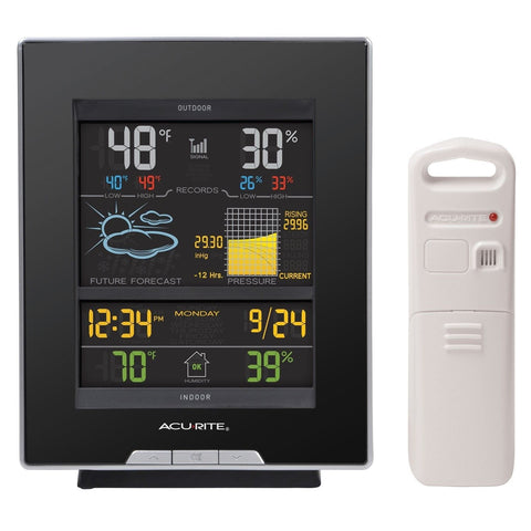 AcuRite 02008A1 Color Weather Station with Forecast Temperature Humidity Baro... - Chickadee Solutions - 1